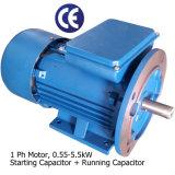 motor da fase 2.2kw-3HP monofásica (230V, 50Hz, 1450rpm, pólo 4, começo do capacitor & funcionamento)