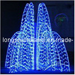 LED 3D Sculpture Motif LightかOutdoor Decoration Light