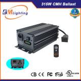 반사체 디지털 알루미늄 밸러스트 315W CMH 600W 630W HPS는 가벼운 장비를 증가한다