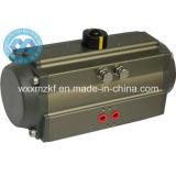 Actuators van uitstekende kwaliteit van de Omwenteling van de Kogelklep Pneumatische (ISO9001: 2008)