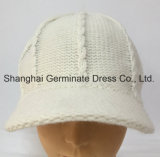 Chapéu de confeção de malhas do inverno da forma com viseira (Hjb056)