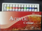 De acryl Reeks van de Verf van de Kleur, de Reeks van de Verf van de Kleur, de Reeks van de Verf van de Kleur