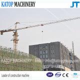 Guindaste de torre dobro da rotação do tipo Qtz80 Tc5610 de Katop