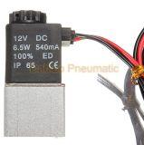 """Qualité de fil de dc normalement fermé 1/8 de la vanne électromagnétique 2V025-06 12V """" pour le gaz eau-air"""