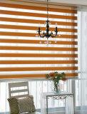 Gewebevenetianisches Zebra-Fenster-Vorhang- Büro und Haus