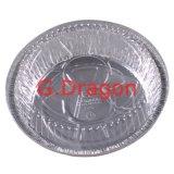 알루미늄 호일 접시, 쟁반, 뚜껑 (AFC-002)를 가진 콘테이너