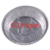 Лоток алюминиевой фольги используемый в замораживателе, печи, испаряясь (AFC-002)