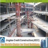 Construction à plusiers étages de structure métallique de lumière de centre commercial