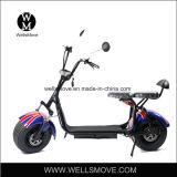 2 거물 차량 1000W 60V Citycoco Harley 뚱뚱한 타이어 전기 스쿠터