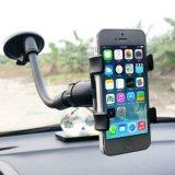 Nuevo sostenedor perezoso del montaje del coche de 360 rotaciones 2016 para el teléfono móvil del GPS