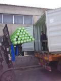 Fabrication chinoise à l'épreuve de la couleur verte en PVC dans le marché américain