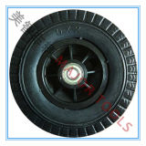 6 인치 유모차 바퀴; 바퀴 휠체어; 특별한 차량 바퀴; 폴리우레탄 거품 바퀴