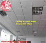 Material de construcción decorativo de la construcción de la absorción sana del azulejo de la decoración de la tarjeta del techo del panel acústico