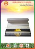 Papier de roulement souriant de cigarette avec des extrémités de filtre