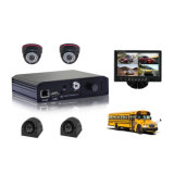 Mini cartão SD portátil GPS WiFi Security School Bus Mobile DVR