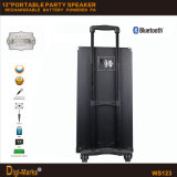 Neue 12-Inch Bluetooth Portenergie DJ der Batterie-USB/SD Party Lautsprecher