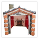 Decoração inflável do Natal do Grotto de Santa popular da venda
