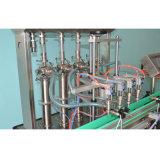 Vollautomatische sechs Hauptfüllmaschine für Viskosität-Reinigungsmittel-Produkt