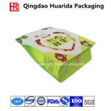 Seitliches Stützblech-Fastfood- Verpacken- der Lebensmittelbeutel/Beutel mit unterschiedlicher Form