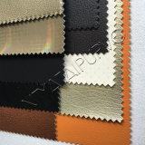 Couro elegante de Upholstery do falso do plutônio para a mobília