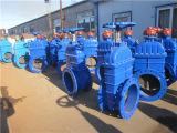 Angeflanschtes Ductile Iron Sluice Gate Valve für Water