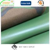 O PVC de grande resistência revestiu a tela de 1200d Cordura com camuflar impresso