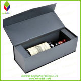 Shell duro de lujo de embalaje de regalo vino de la caja con la seda Insertar
