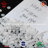 Farbe bereitete HDPE-Körnchen aufbereitete HDPE Weiß-Körnchen auf