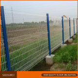 Anping-3D geschweißter Maschendraht-Zaun, der europäischen Zaun landschaftlich verschönert