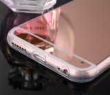 Зеркало передвижного вспомогательного оборудования роскошное гальванизируя мягкое iPhone 5/5s/5se6/6s/6 аргументы за телефона ясности TPU плюс случай крышки сотового телефона