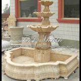 Fontana di marmo Mf-234 del calcio dell'oggetto d'antiquariato della fontana del granito della fontana della pietra della fontana