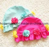 Fleurs de fille Accessoires imprimés Combinaison de bain, Dentelle Lovely Bikini Swimming Wear