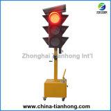 Indicatore luminoso mobile solare del segnale stradale del LED con GPRS Th-Mtl109 controllato