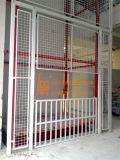 Lager-stationärer hydraulischer Führungsleiste-Ladung-Aufzug (SJD2-12C-2)