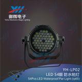 54PCS*3W LED RGBW impermeabilizzano l'indicatore luminoso della fase di PARITÀ del LED
