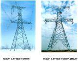 Torretta d'acciaio della trasmissione di potere 35kv-1000kv