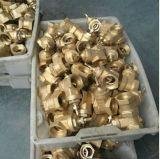 Ajustage de précision en laiton de laiton de coude de compactage