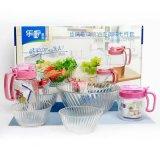 Het hete Keukengerei van de Kom van het Glas van de Verkoop met Goede Prijs kb-J00117