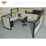 Compartiment simple moderne de centre d'appels de partition de bureau de portée de personne pour les meubles modernes