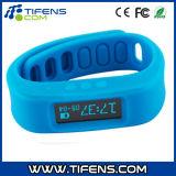 Bluetooth 4.0 Elegante reloj pulsera deportivo con podómetro Monitoreo del sueño