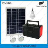 Alto sistema de iluminación casero solar del buen funcionamiento LED del lumen