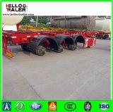 20FT 40FT 반 3개의 차축 골격 콘테이너 트럭 트레일러