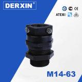 M14-M63 Waterproof a glândula de cabo elástica industrial da resistência do nível da proteção IP68