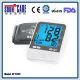 Qualitäts-Digital-oberer Arm-Blutdruck-Monitor (BP 80NH) mit von hinten beleuchtetem (wahlweise freigestellt)