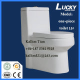 11#WhiteカラーCe/Sasoの証明書が付いている衛生製品のための浴室の陶磁器のトイレの水を流すワンピースストラップのサイフォンのジェット機