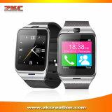 Reloj impermeable del podómetro del MP3 de la salud de Smartwatch Gv18 Bluetooth