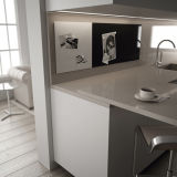 Uispair moderne Haupthotel-Büro-Wand-Dekoration-Möbel-Farben-weiße magnetische Glasnachricht