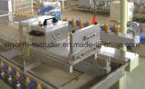 Chaîne de production en plastique de feuille de voie de garage de mur de PVC machine
