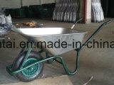 Гальванизированный курган колеса колеса подноса пневматический (WB6414T)