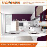 Cabinas de cocina modernas de la laca de los muebles calientes de la casa